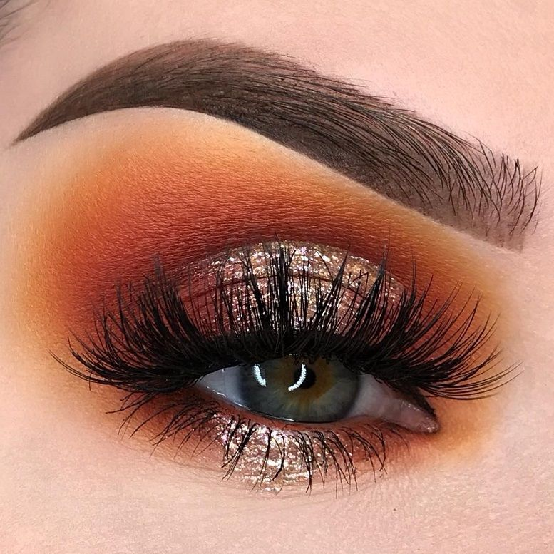 Fabulous eye makeup ideas make your eyes pop - warm toned eye makeup #eyemakeup #makeup #eyes #beauty mua #eyeshadow