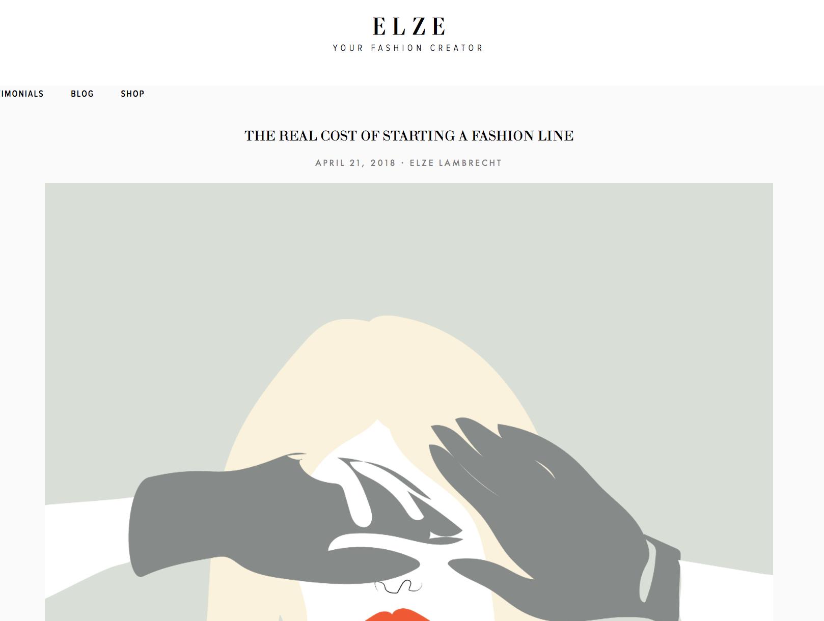 Fashion blog design real money design factories creative