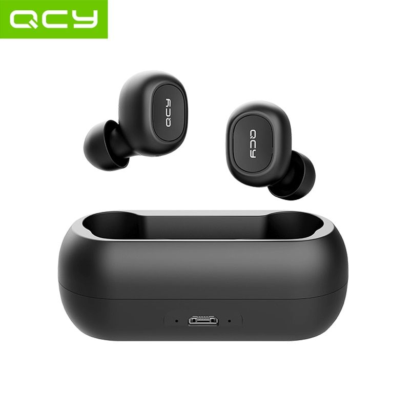 Qcy Qs1 Tws 5 0 Bluetooth Headphones 3d Stereo Wireless Earphones With Dual Microphone Discount 55 In 2020 Bluetooth Wireless Earphones Earphone