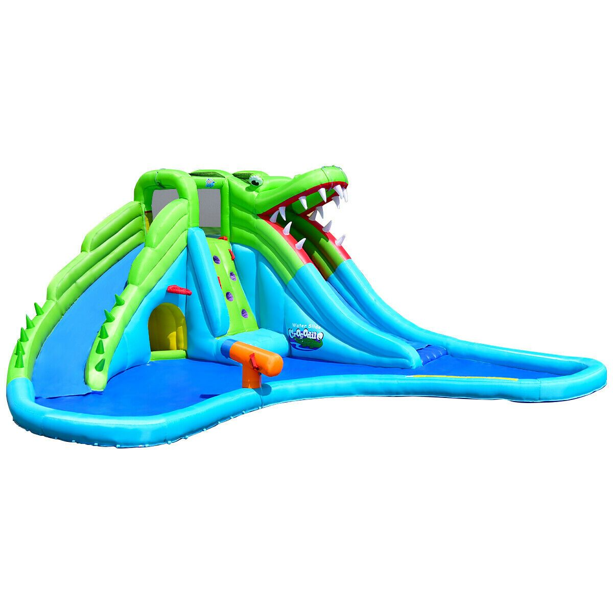 45++ Bounce house water slide clipart info