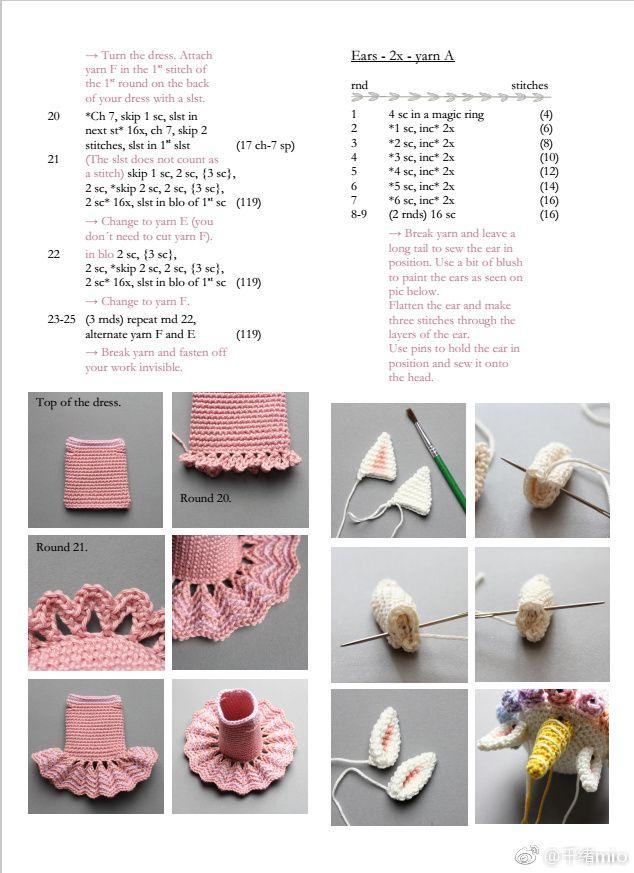 Pin de Stephani Lee en crochet idea | Pinterest | Patrones