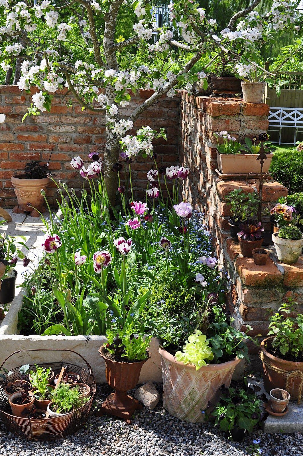 Cottage garden landscape design ideas  JPG   Ideas for my garden  Pinterest  Gardens