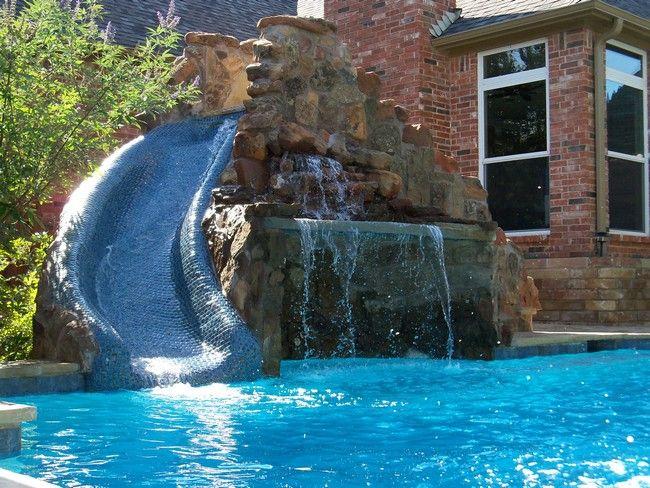 Pool Waterfall Ideas You Can Recreate in Your Backyard Swimming