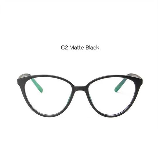 Uvlaik Fashion Optical Eyeglasses Women Cat Eye Frame Glasses