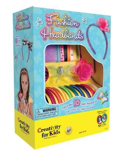 Best Gifts and Toys for 10 Year Old Girls | Fashion headbands, Toy ...