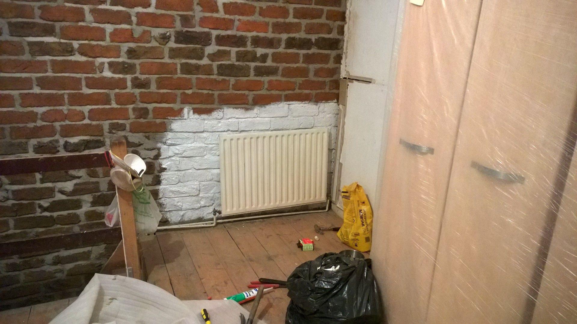 4 radiator back on leaking filled wonky not down