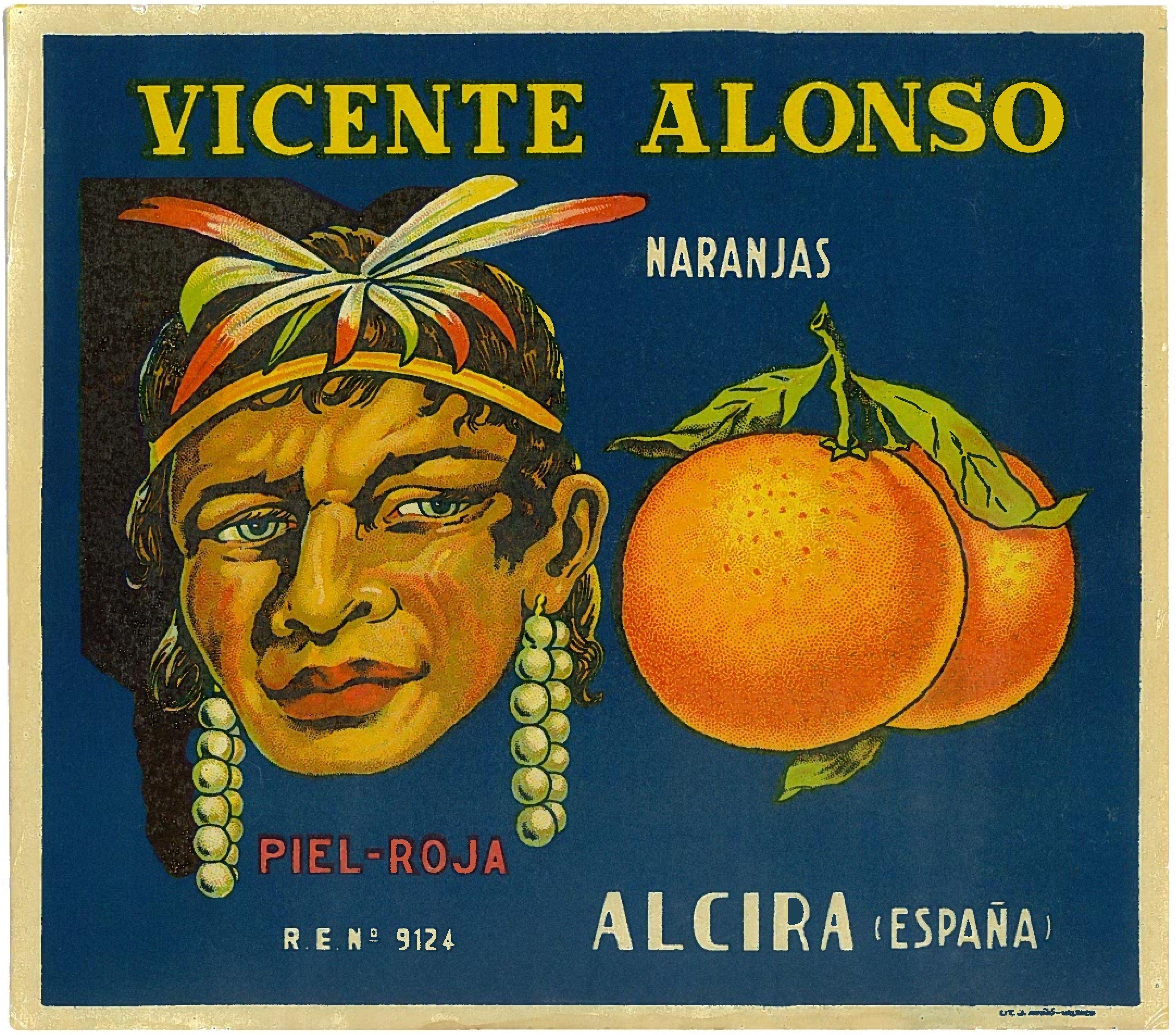 *Original* PRINCE OF WALES England Royal Florida Citrus Crate Label NOT A COPY!
