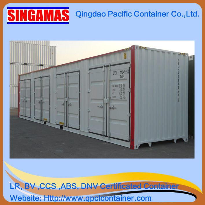 Cheap 40FT New Open Side Shipping Container - China 40 Foot