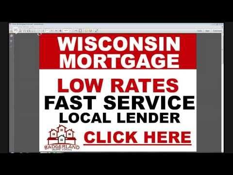 Find the best wisconsin mortgage rates at Badgerlandhomeloans