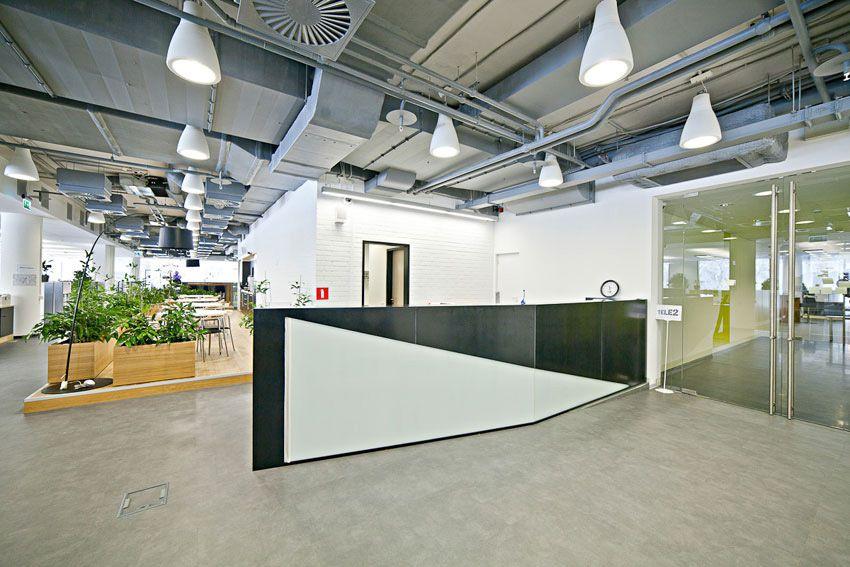 ПРОЕКТЫ > Tele2 Москва - OfficeNEXT: Офисы нового поколения