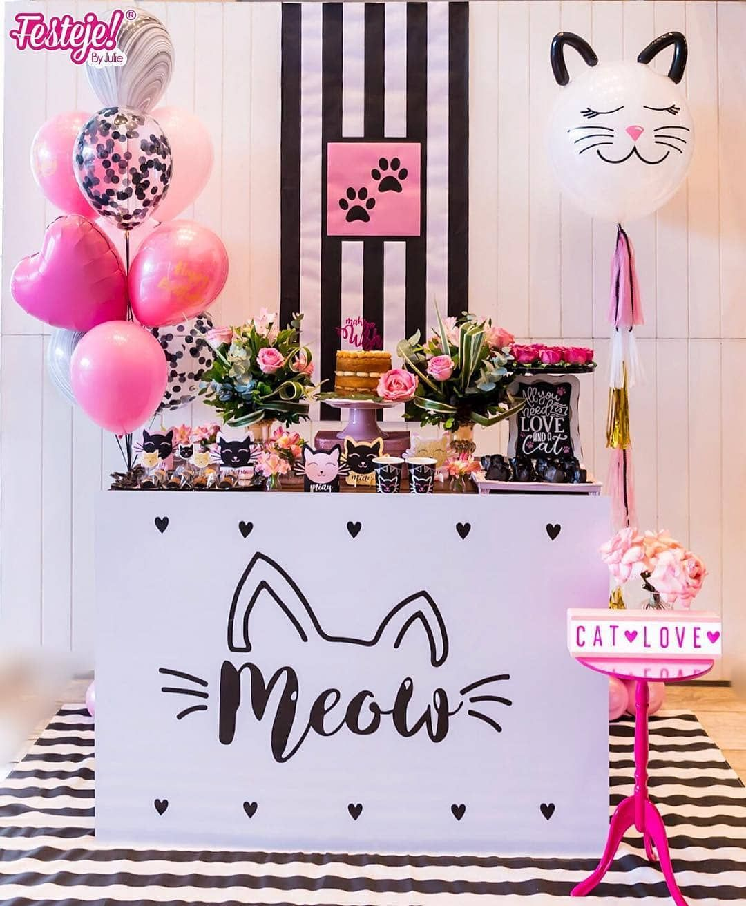 Baby Shower Ideas Baby Shower Games Baby Shower Ideas For Boys Baby Shower Decorations Baby Cat Themed Birthday Party Kitten Birthday Party Cat Birthday Party