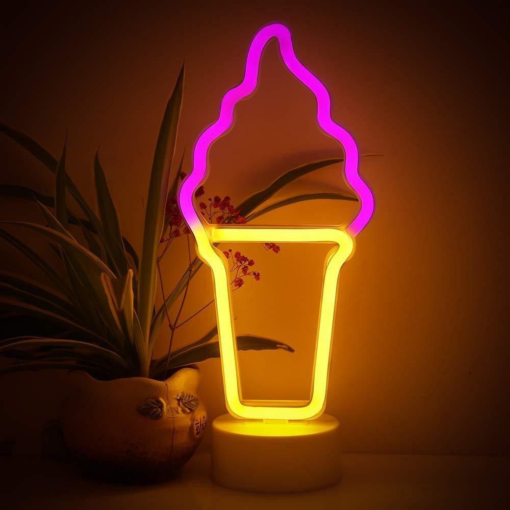 TONGER® Ice Cream Table LED neon light in 2020 Led neon