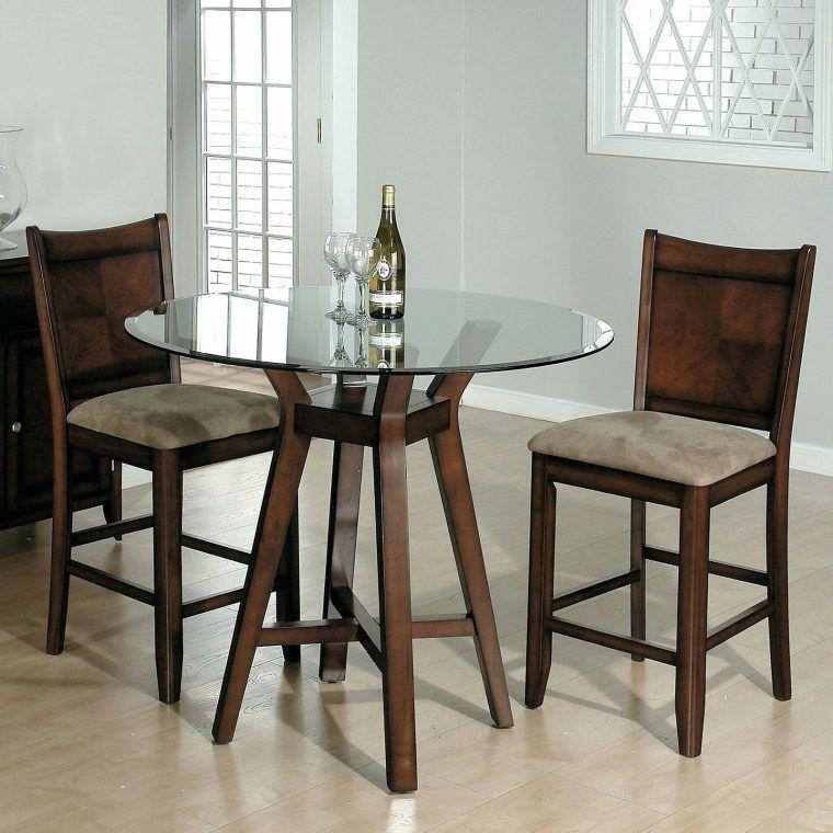 Muebles Para Comedor Funcionales Con Un Toque De Modernidad Kuche Tisch Kuchentisch Rund Glas Tischplatte