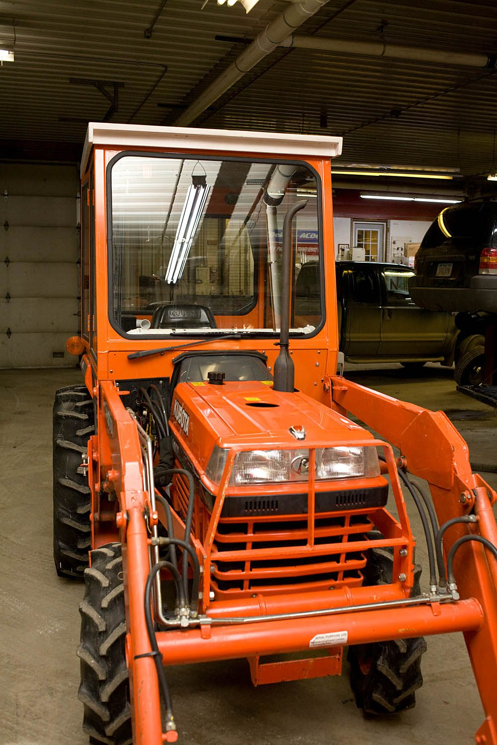 Life on Highway 9 Building a tractor cab – Garden Tractor Cab Plans
