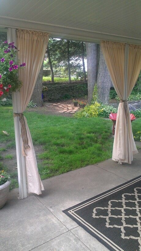 Pin By The Great Curtain Company On Outdoor Spaces Outdoor