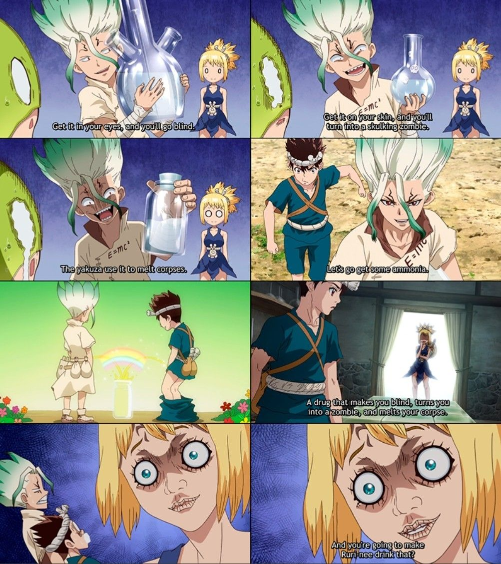 Pin By Edward Sutton On Dr Stone Kawaii Anime Anime Anime Boy