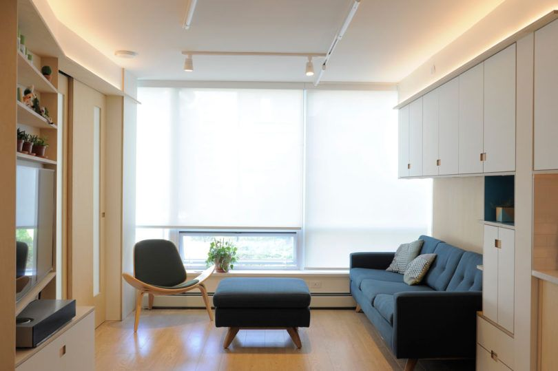 A 600 Square Foot Apartment That Maximizes Every Inch Small Room