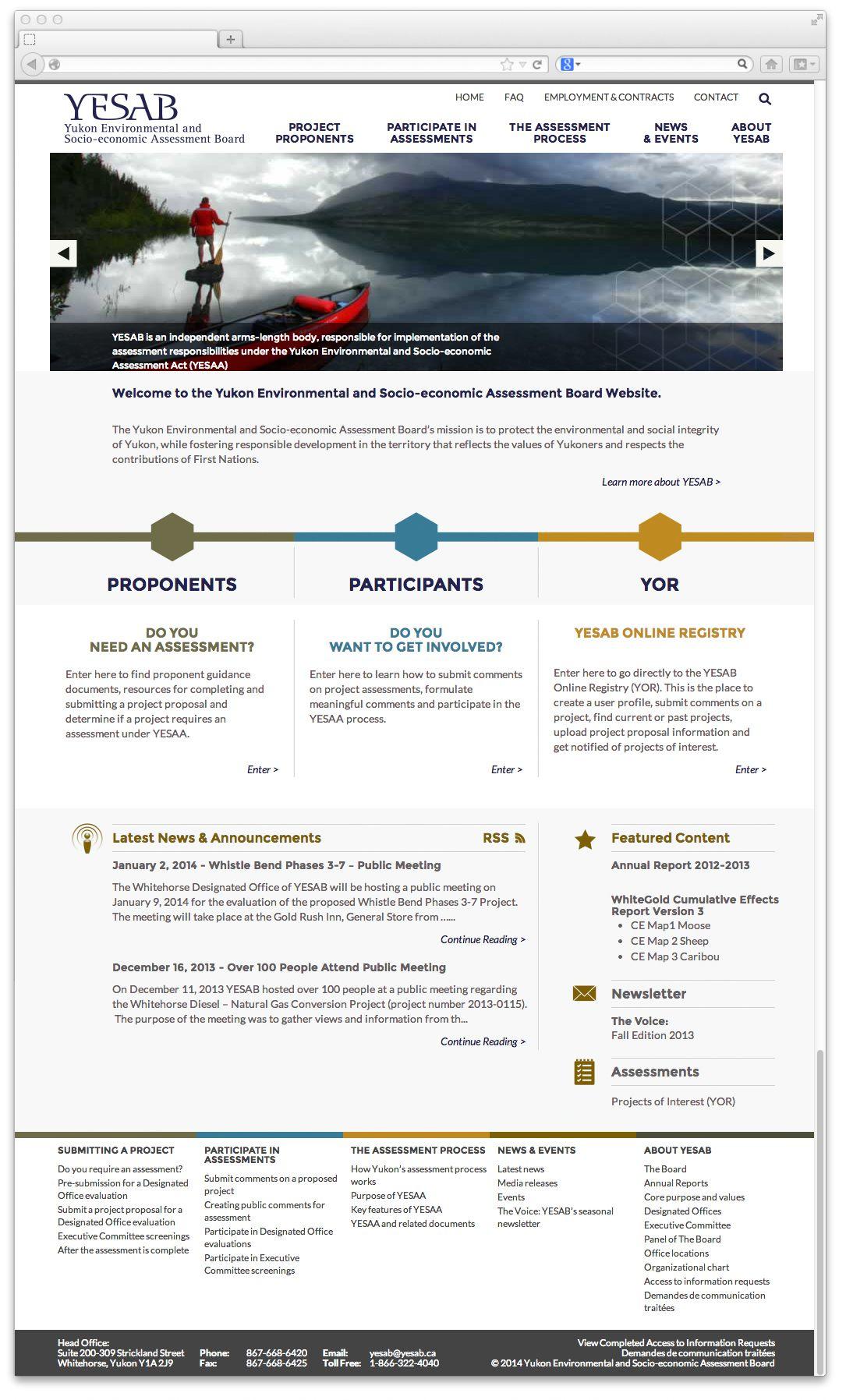 Yukon Environmental And SocioEconomic Assessment Board Yesab