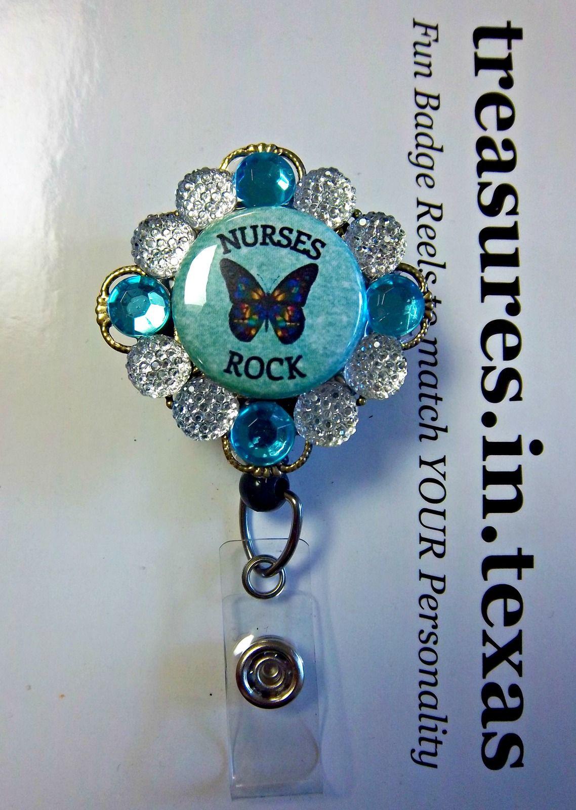 Pin on Nurse CNA Medical Staff Retractable ID Badge Reels