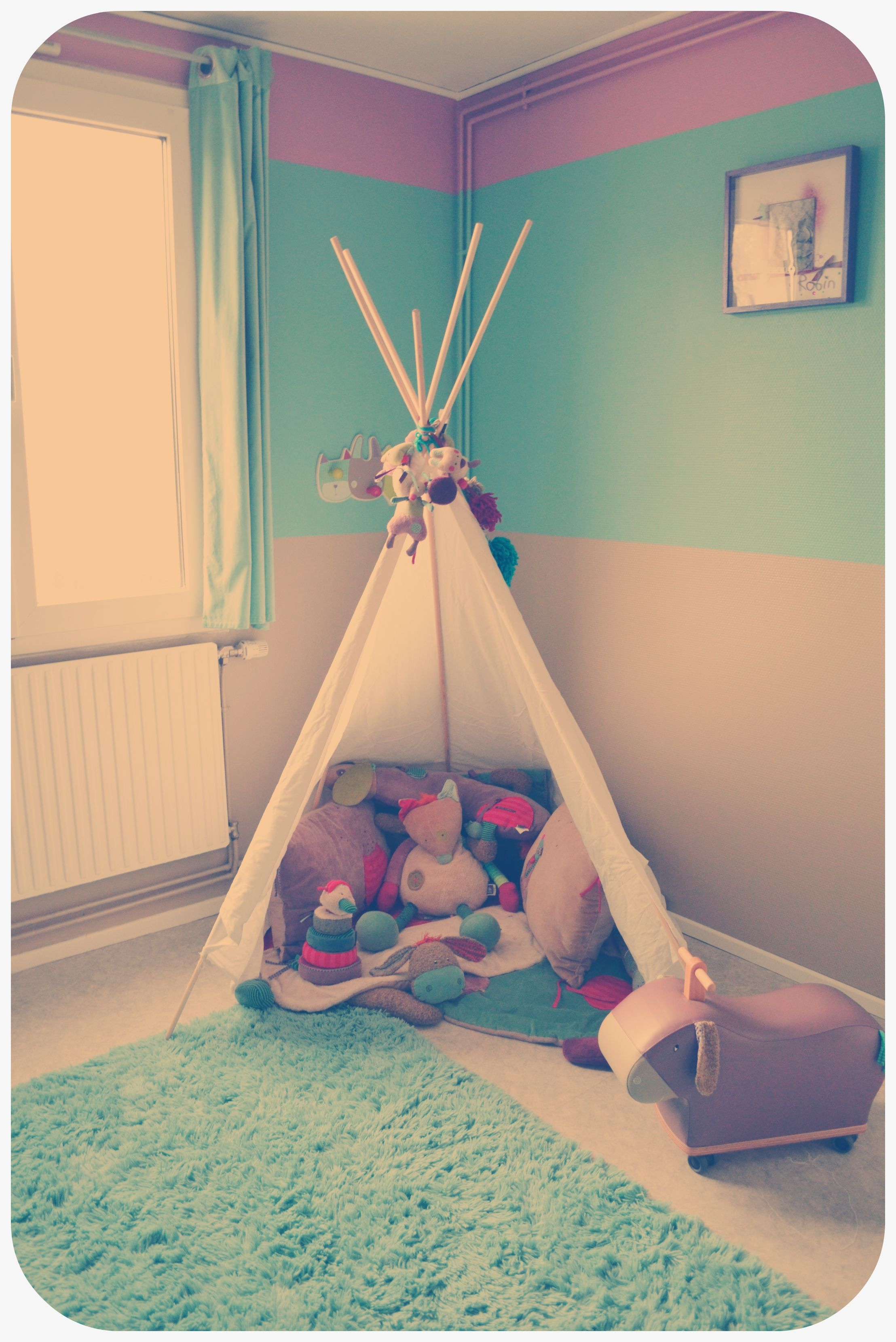 Chambre de robin tipi moulin roty les jolis pas beaux for Chambre calisson moulin roty