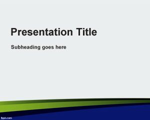 Ground Powerpoint Template Is A Free Abstract Background