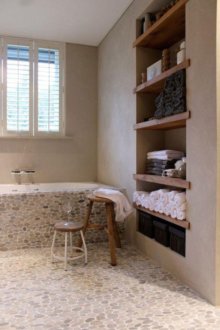 le carrelage galet pratique rev tement pour la salle de. Black Bedroom Furniture Sets. Home Design Ideas