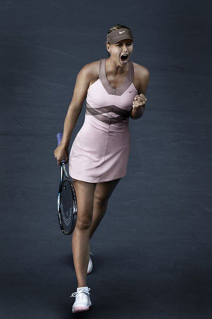 Maria Sharapova US Open day outfit