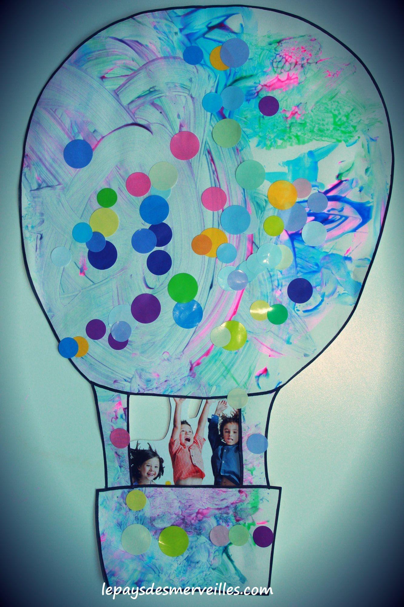 montgolfiere bricolage