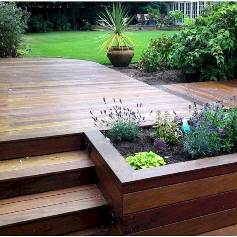 49 Unbelievable Front Porch With Wooden Ipe Deck Ideas In 2020 Small Backyard Decks Patio Deck Designs Deck Designs Backyard