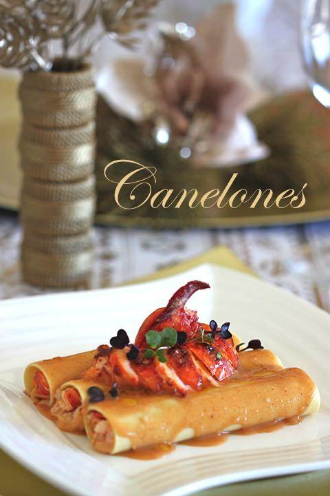 Canelones de bogavante para navidad salados recetas de - Cocina navidena espanola ...