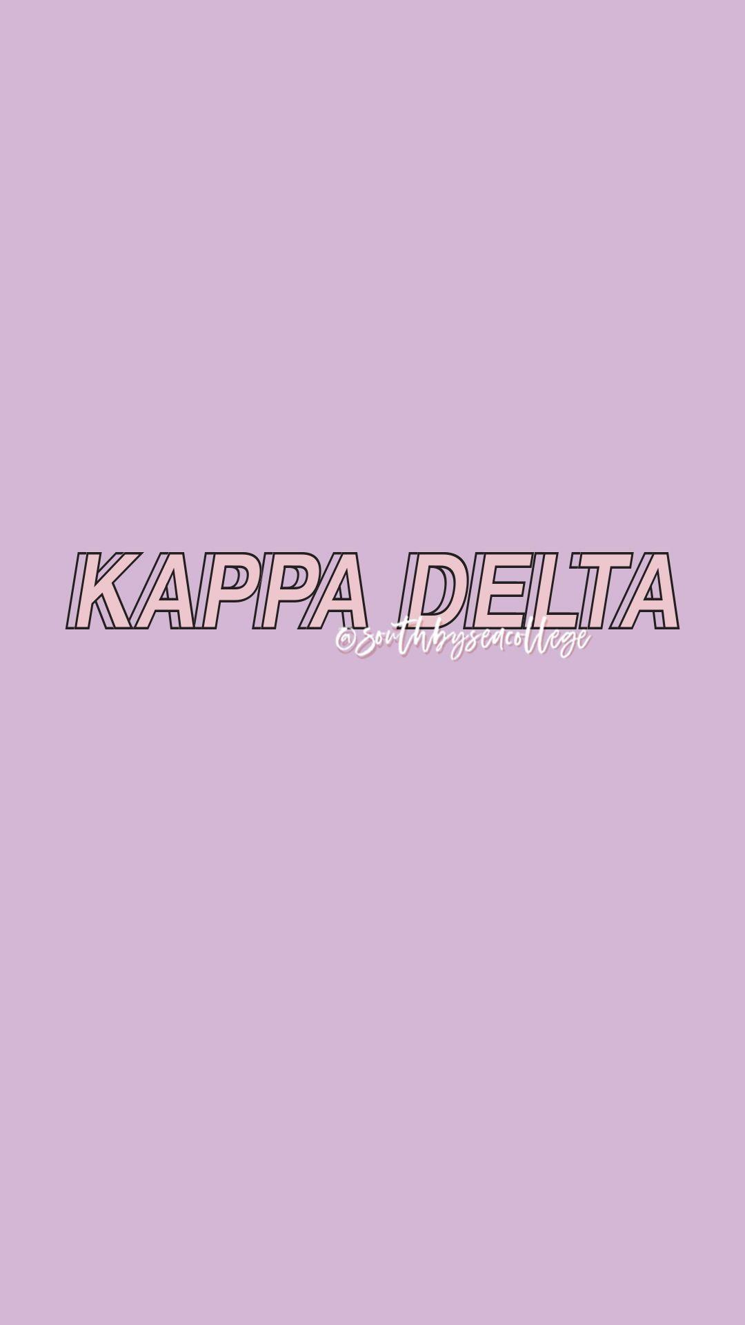 SOUTH BY SEA southbyseacollege Kappa Delta KayDee KD