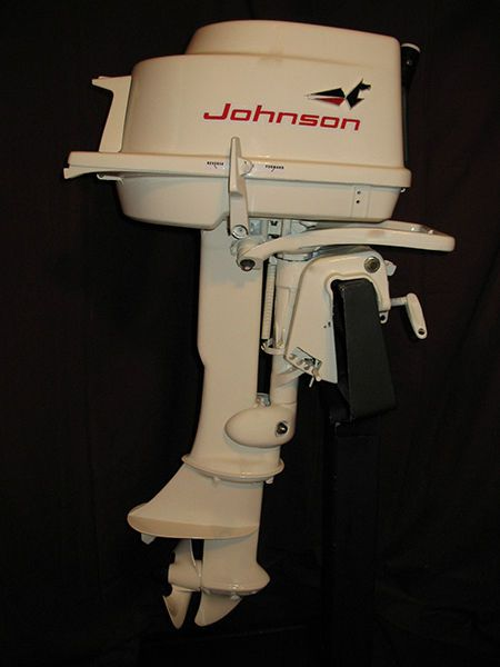 Johnson Outboard Motor Year Identification
