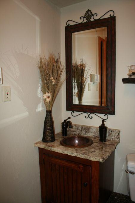 Small half bathroom ideas small half bath remodel this - Half bathroom remodel ideas ...