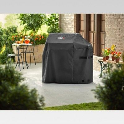 Weber Spirit 300 And Spirit Ii 300 Series Grill Cover Black Grilling Cover Black