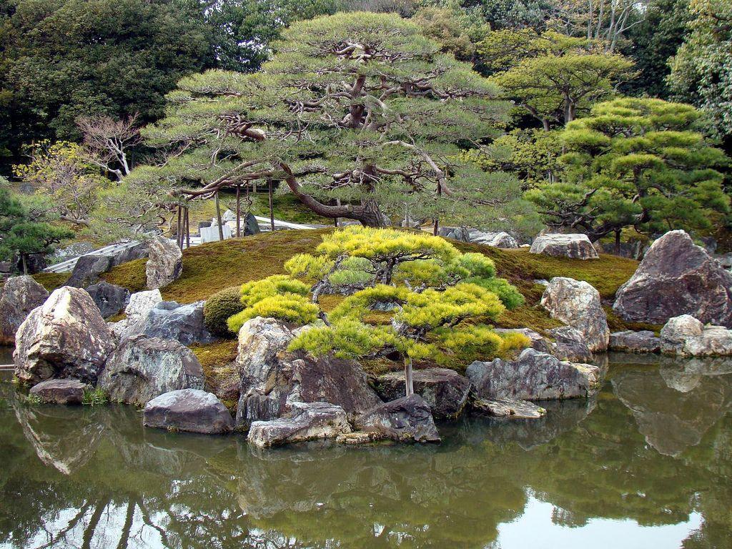 Nij castle 39 s ninomaru garden matsu estanques fuentes for Estanques japoneses jardin