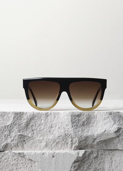 Shadow Sunglasses in Acetate - Fall / Winter Collection 2014 | CÉLINE