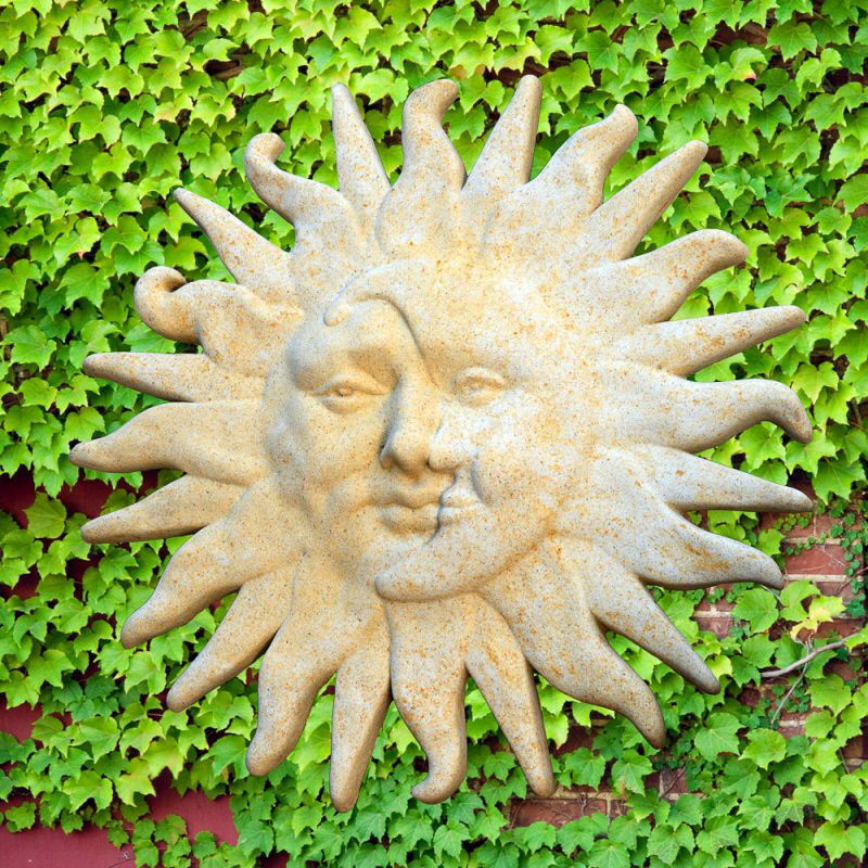 Steinrelief Sonne & Mond