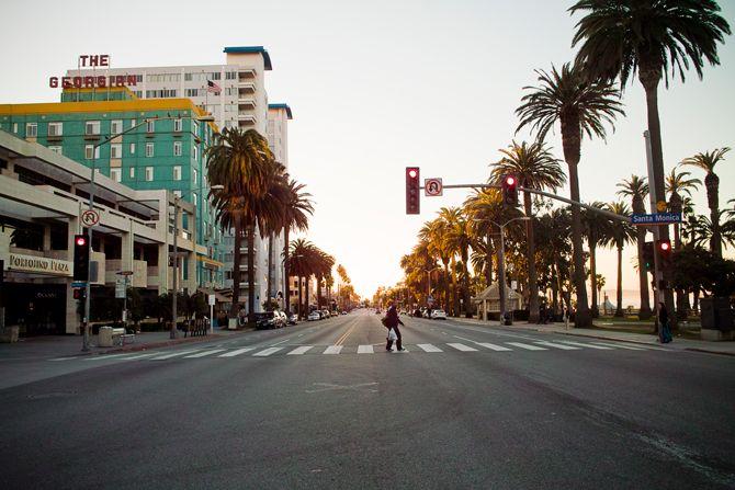 Narrow Streets Los Angeles David Yoon Original Street Los Angeles Street View