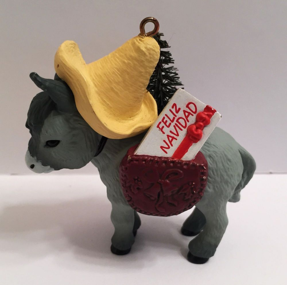 Donkey Christmas Ornaments.Details About Vintage Hallmark Keepsake Christmas Ornament