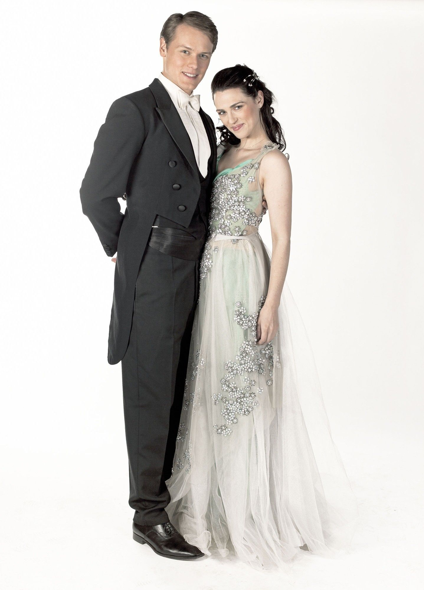 Katie McGrath\'s dress in A Princess for Christmas makes me drool ...