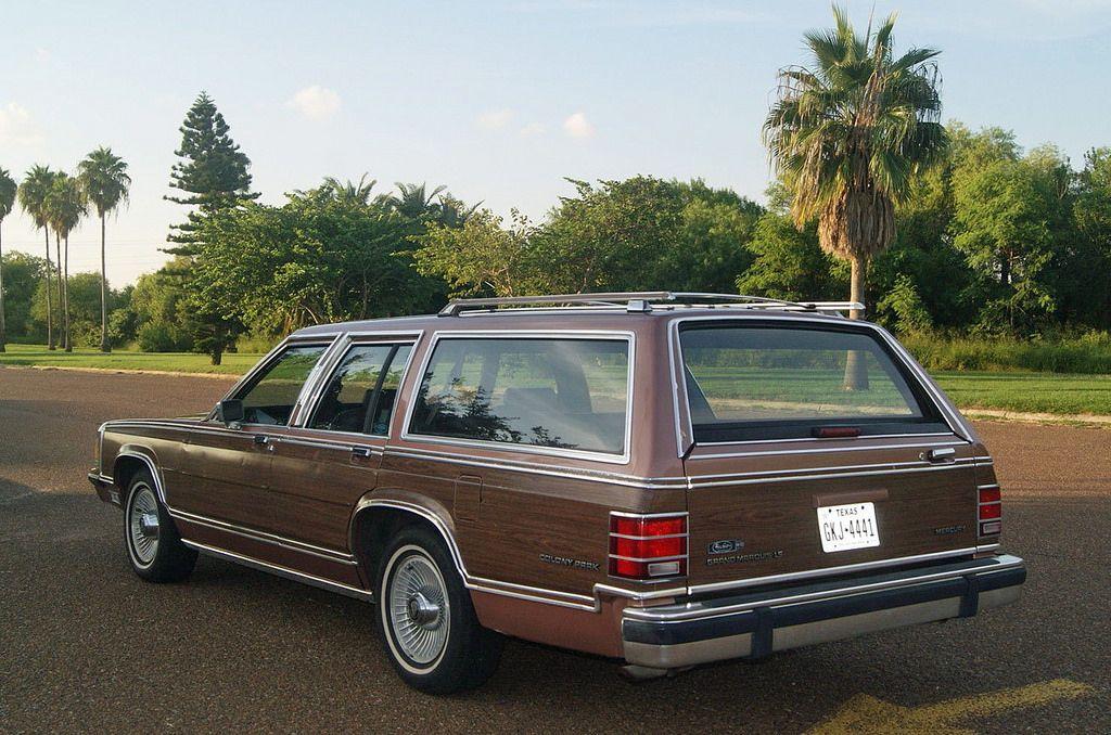 1991 Mercury Grand Marquis Colony Park Wagon