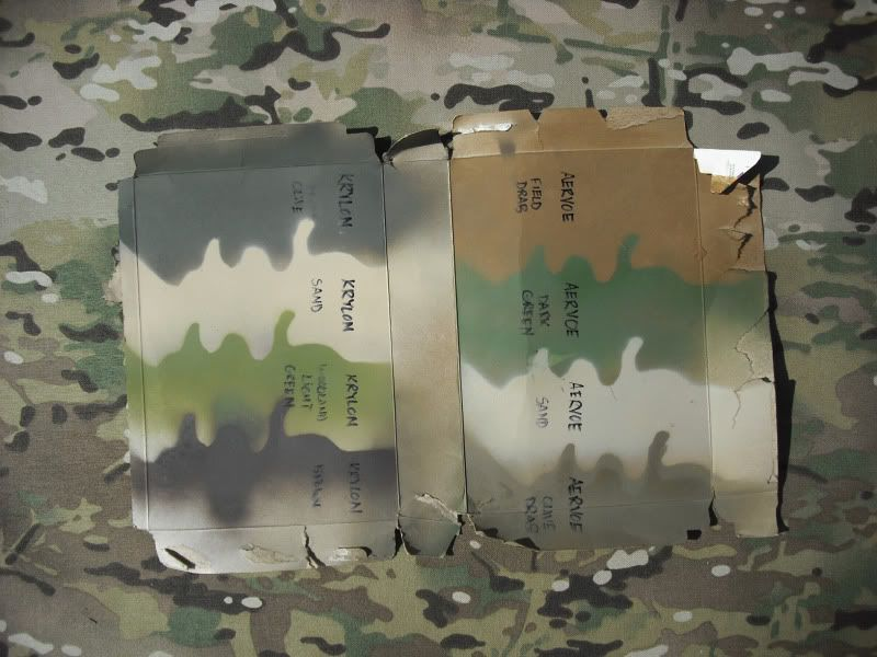 Multicam paint with aervoe Guns, Painting, Multicam