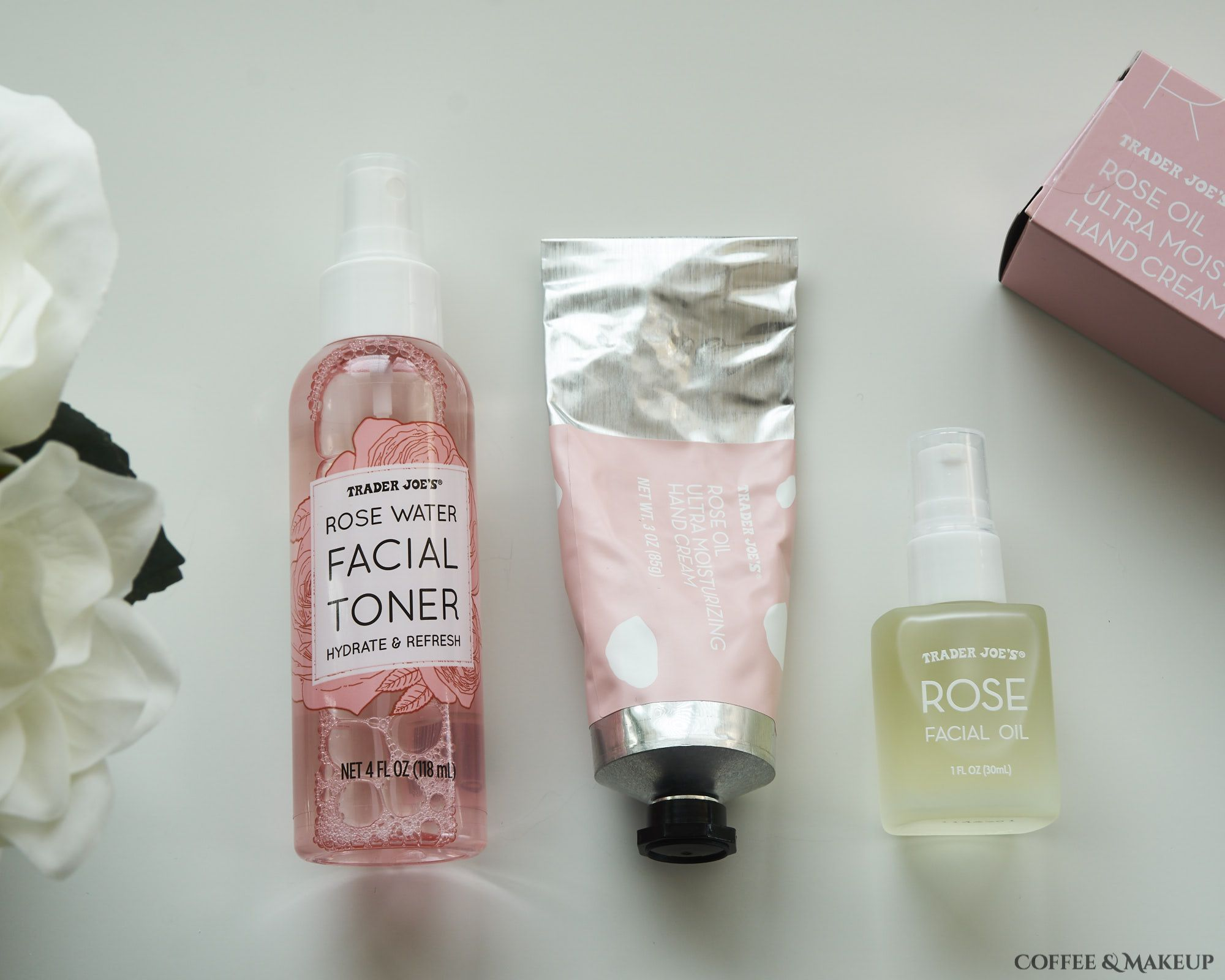 Haul Trader Joe S Rose Facial Oil Rose Water Facial Toner And