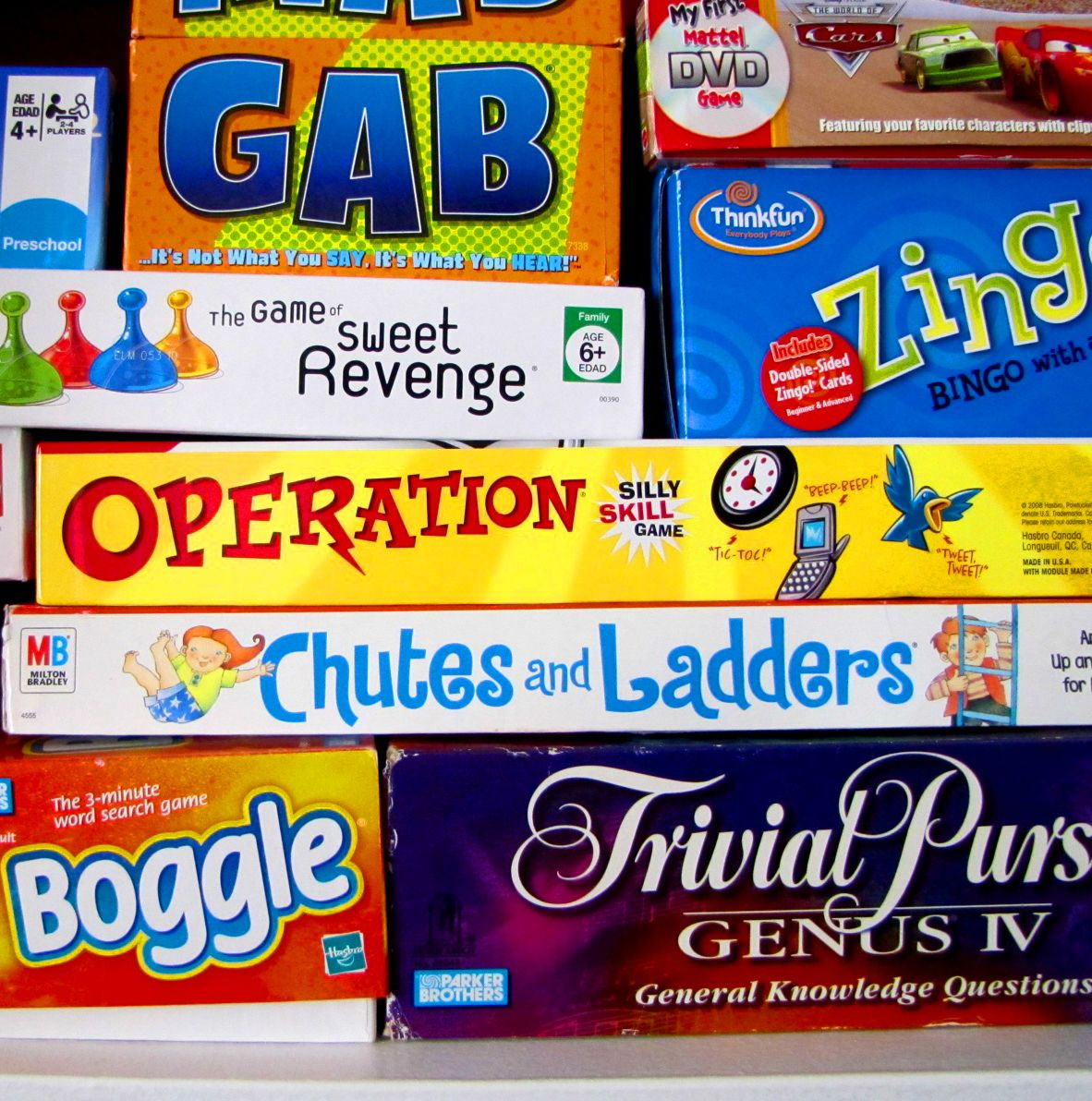Weekend Still Shot Boxes, board games (With images