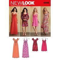 bb734b5fca6 New Look - Design: 6096 - Snitmønster | Sy tøj | Sy tøj, Symønstre ...