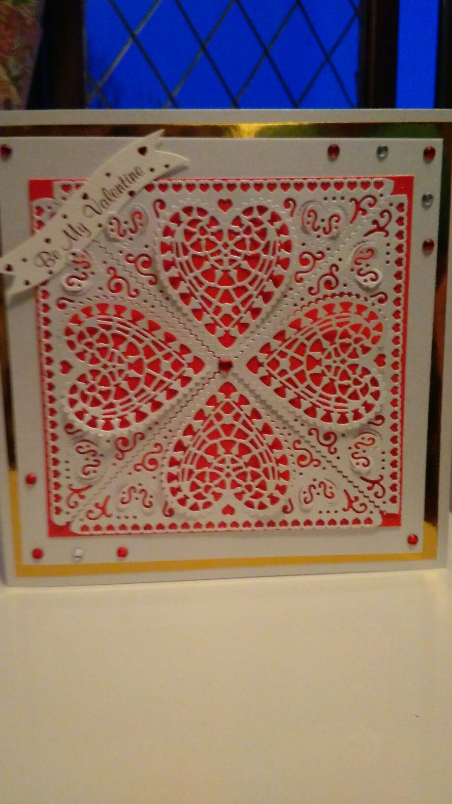 I used Tattered Lace Die for this card I made I hope you like it.