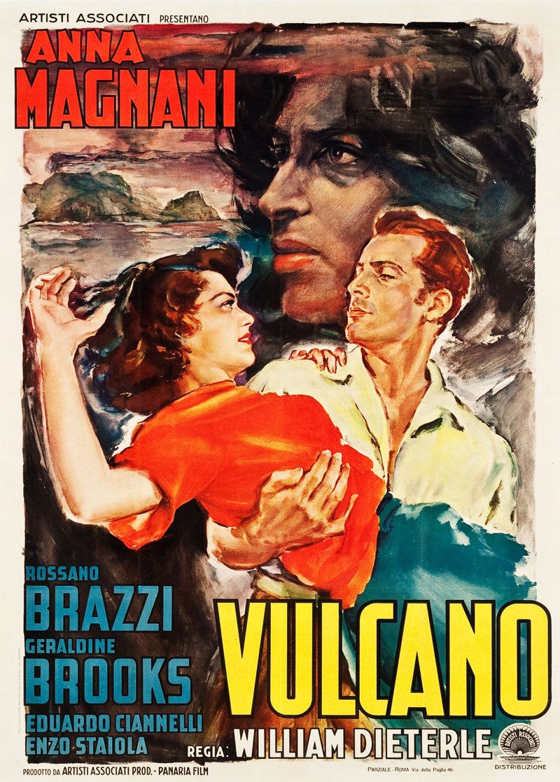 Movie Poster Of The Week Anna Magnani In Movie Posters On Notebook Mubi Movie Posters Classic Movie Posters Anna Magnani