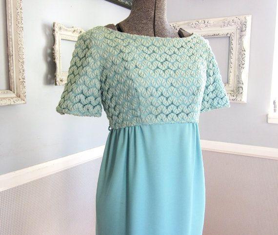 Aqua Dress, Retro Fashion, Dresses