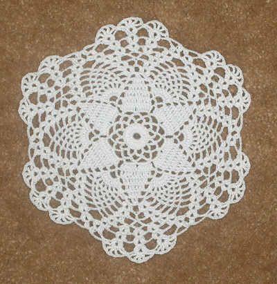 Easy Crochet Dollies Patterns Crochet Petite Seasonal Doily