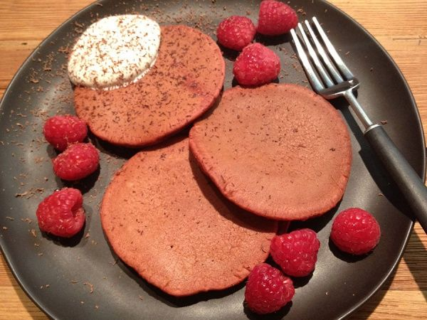 Red Velvet Pancakes Recipe In 2020 Red Velvet Pancakes Recipes Food